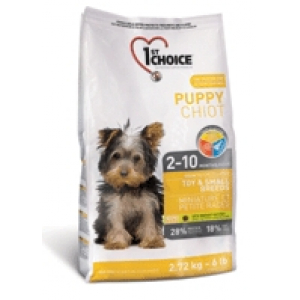 1st choice Puppy Toy& Small 2,72kg